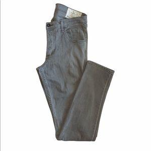 Rag & Bone Standard Issue slim leg jeans grey 31